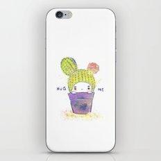 the secret wish of a cactus iPhone & iPod Skin