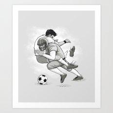 This is Football! Art Print