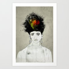 I'm not what you see Art Print
