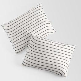 Minimal Line Curvature I Pillow Sham
