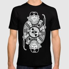 King of the road SMALL Mens Fitted Tee Black
