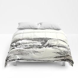 Elwood sleeping Comforters