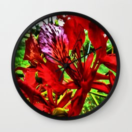 Caribbean Summer Wall Clock