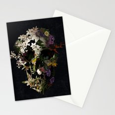 Spring Skull 2 Stationery Cards