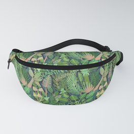 Dark Jungle Fanny Pack