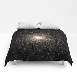 NASA Telescope View Of Globular Cluster of Stars Night Sky Astronomy Space Comforters