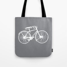 Reverse Bike Tote Bag
