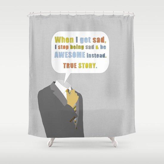 LEGEN____waitforit____DARY Shower Curtain