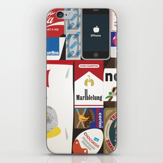 Consumption of goods iPhone & iPod Skin