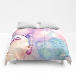 Burning Girl Comforters