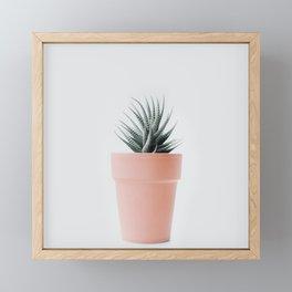 Cactus love II Framed Mini Art Print
