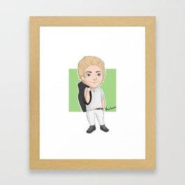 Golf Niall Framed Art Print