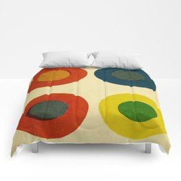 Contrast Circles Comforters