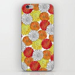 Dahlia Garden Summer iPhone Skin
