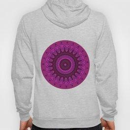 Deep purple mandala Hoody