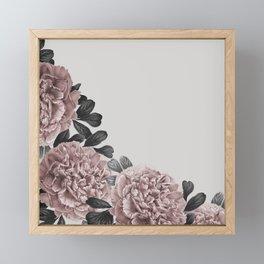 Dreaming in a flower garden Framed Mini Art Print