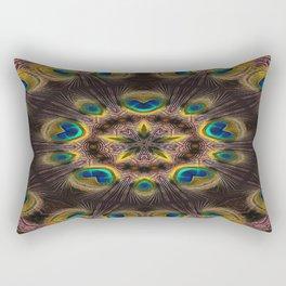 The Eye of the Peacock Rectangular Pillow