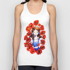 Poppies will put Her to Sleep Unisex Tank Top