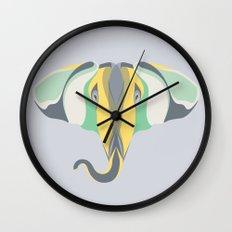 Elephant Gun Wall Clock