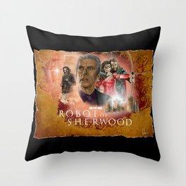 Doctor Who: Robot of Sherwood Throw Pillow