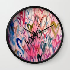My Love Heart Wall Clock
