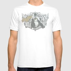 Fearless Creature: Grillz MEDIUM White Mens Fitted Tee
