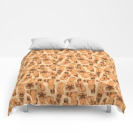 Snare a Rabbit Comforters