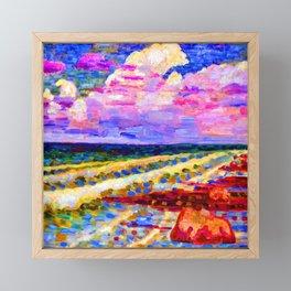 Konrad Magi Coastline of Saaremaa Framed Mini Art Print