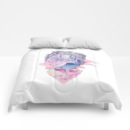 Sharp Expressions Comforters