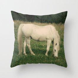 zaldi zurixe Throw Pillow