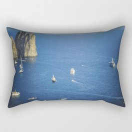 Capri, Amalphi Coast, Italy 7 Rectangular Pillow