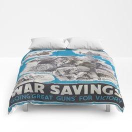 Reprint of British wartime poster. Comforters