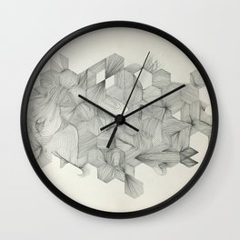 Embrace your randomness Wall Clock