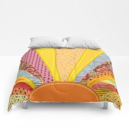 Sun Patterns Comforters