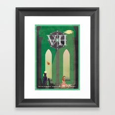 Vintage FF Poster VII Framed Art Print
