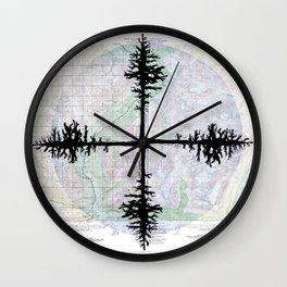 Valdez (B-4) Wall Clock