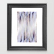 Washed out blue Framed Art Print