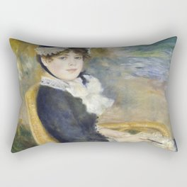 By the Seashore Rectangular Pillow