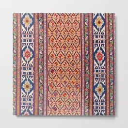 Baku Kelleh Azerbaijan Southeast Caucasus Rug Print Metal Print