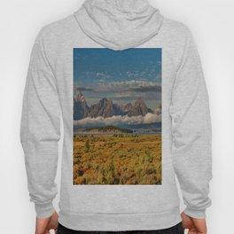 The Grand Tetons Panorama Hoody