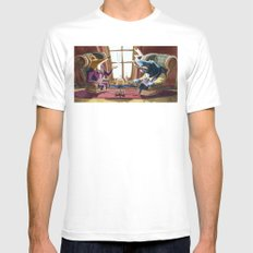 Power´s gathering MEDIUM Mens Fitted Tee White