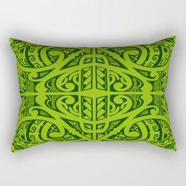 Tatau inspired Rectangular Pillow