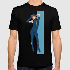 Dazzler (80s) Black Mens Fitted Tee LARGE