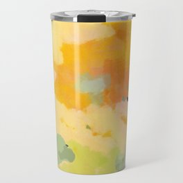 abstract spring sun Travel Mug