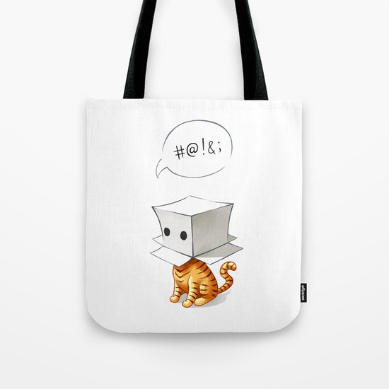 Cat in the Box 2 Tote Bag