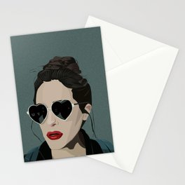Love is forever : bullsh*t ! Stationery Cards