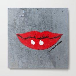 Kiss Me Angelina Metal Print