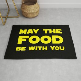 May the Food be with you Rug