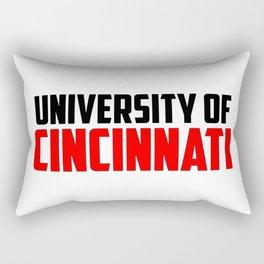 U of Cincinnati, Ohio Rectangular Pillow