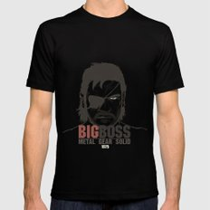 Metal Gear Solid V: Ground Zeroes SMALL Black Mens Fitted Tee
